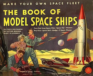 The book of model space ships